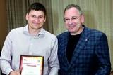 Президент БК «Темп-СУМЗ-УГМК» Багир Абдулазизов и главный тренер Алексей Лобанов.